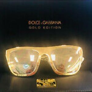 BNIB! D&G Real 18K Gold Limited Ed Collector's 🕶
